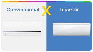Ar condicionado inverter e convencional goiânia