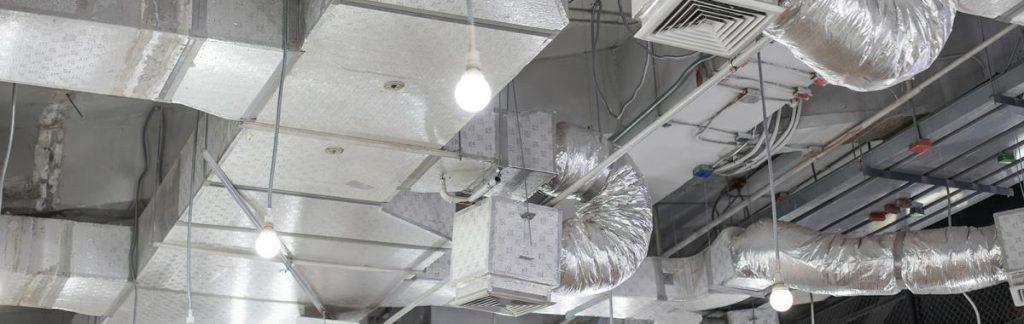 Instalação de dutos MPU