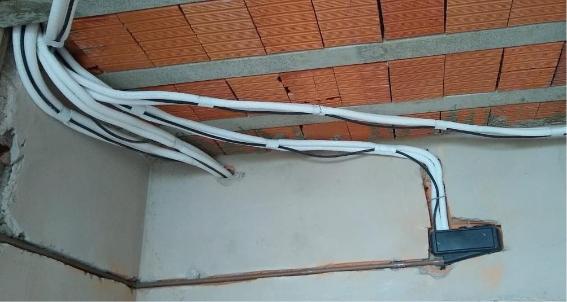 Pré-instalação de ar condicionados