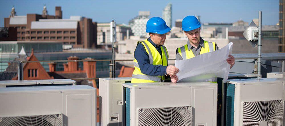 ré-instalação e infraestrutura de ar condicionado